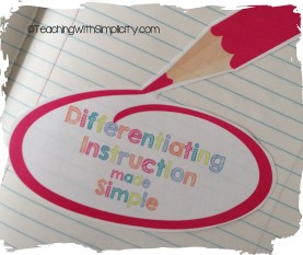 Differentiating Instruction Made Simple