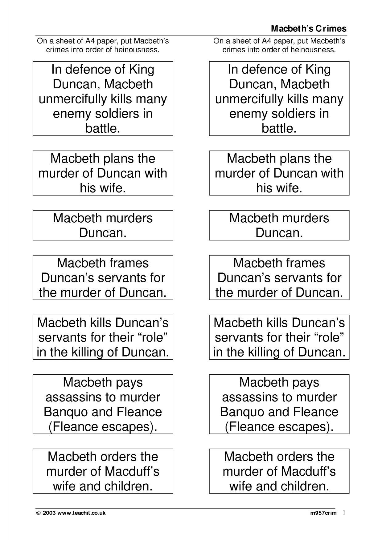 Macbeth Extract