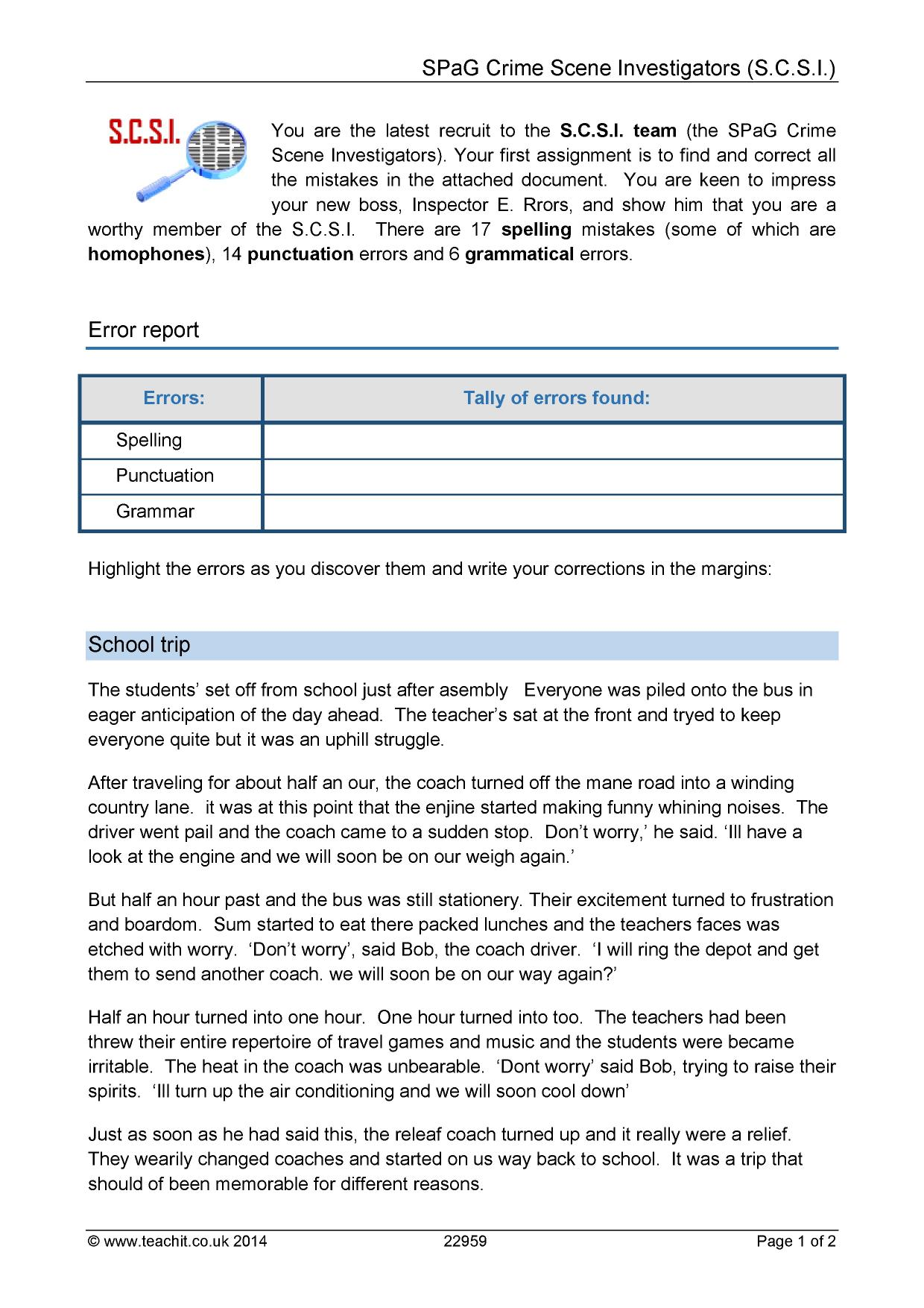 Worksheet Grammar Correction Worksheets Grass Fedjp