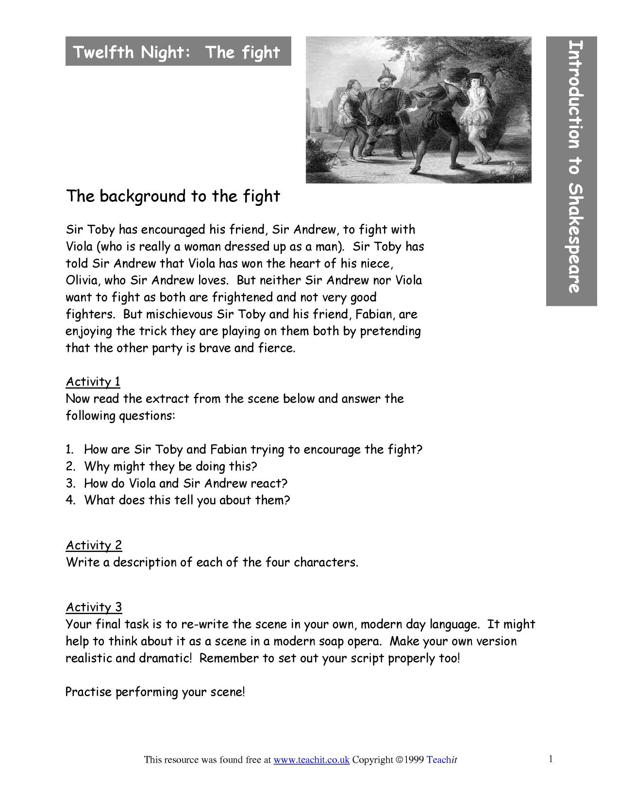 Introduction To Shakespeare The Plays