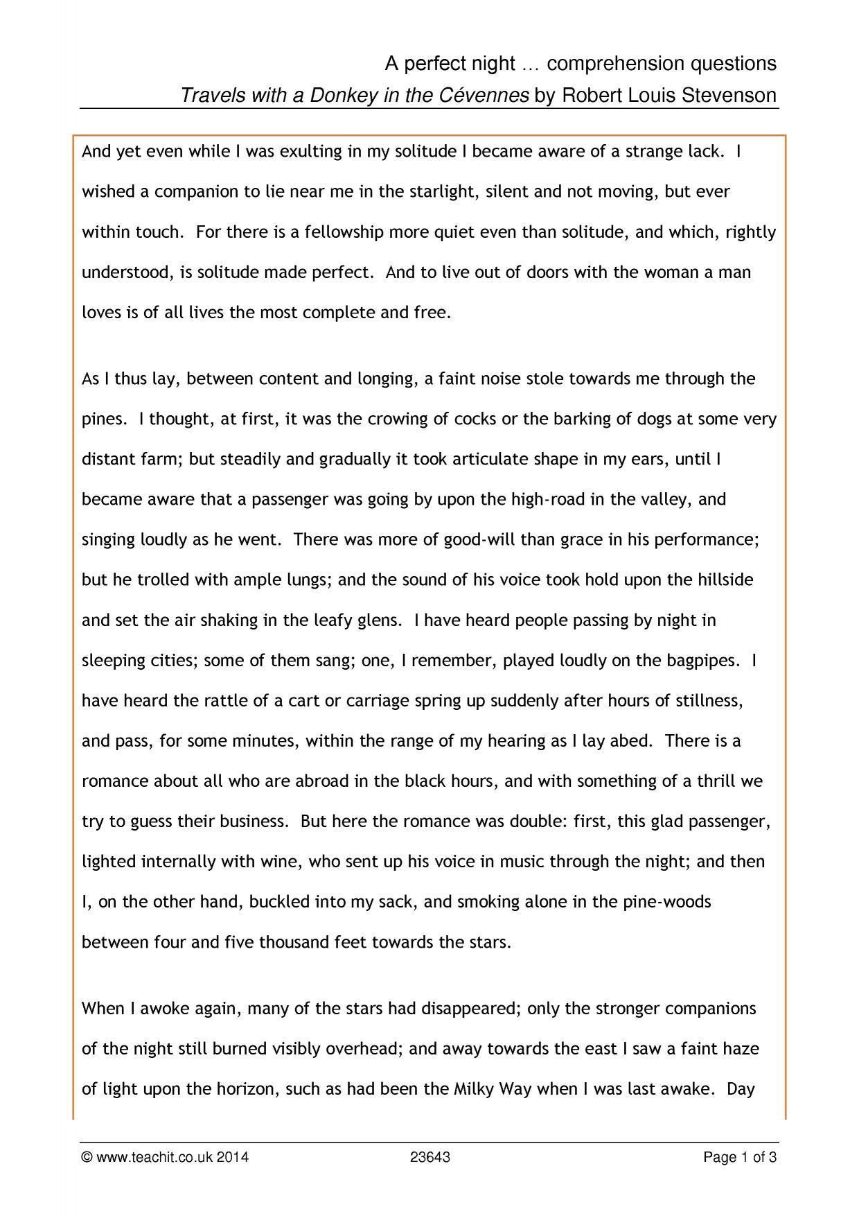 - Year 5 English Prehension Worksheet Printable Worksheets And