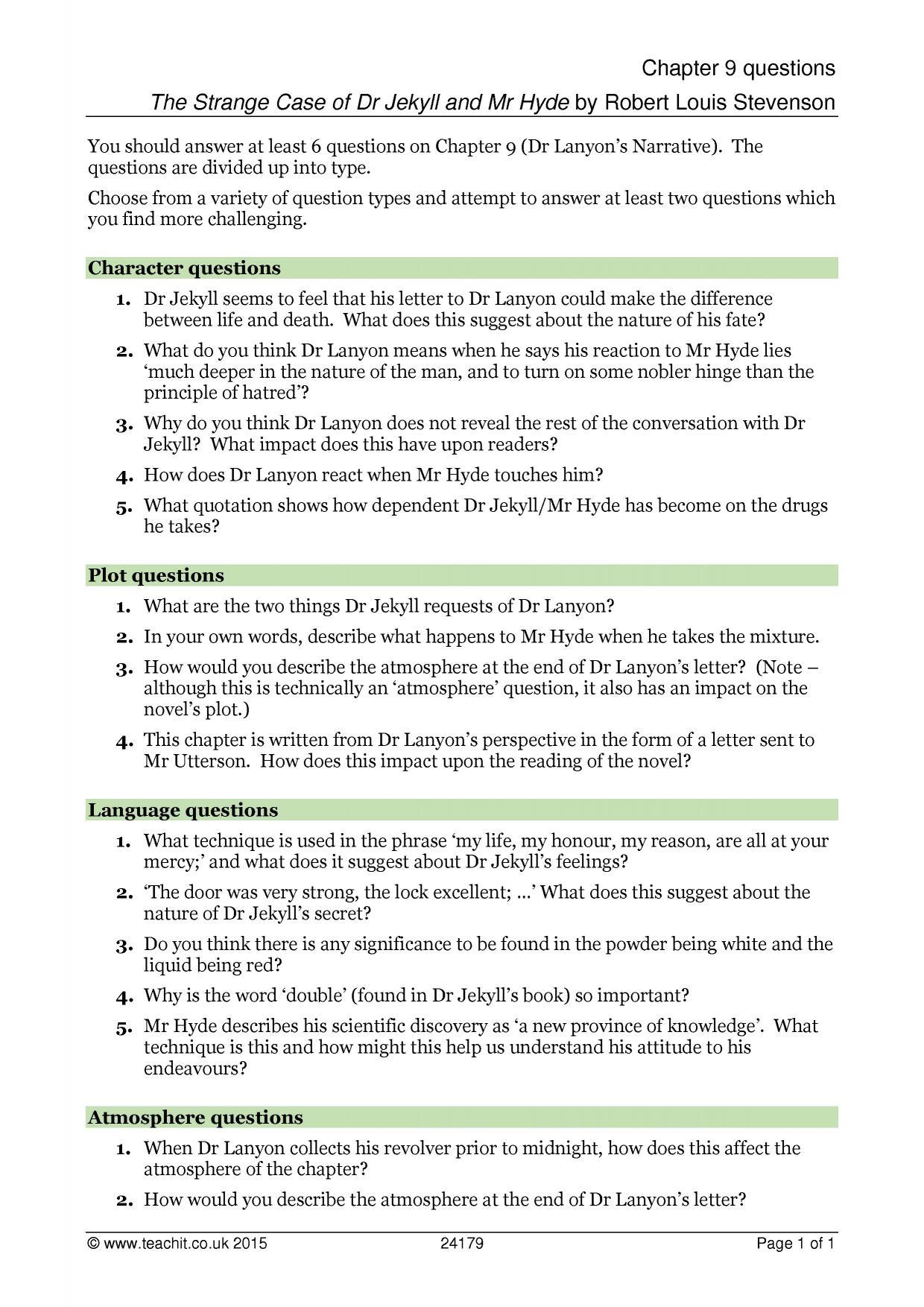 Mla Worksheet 8
