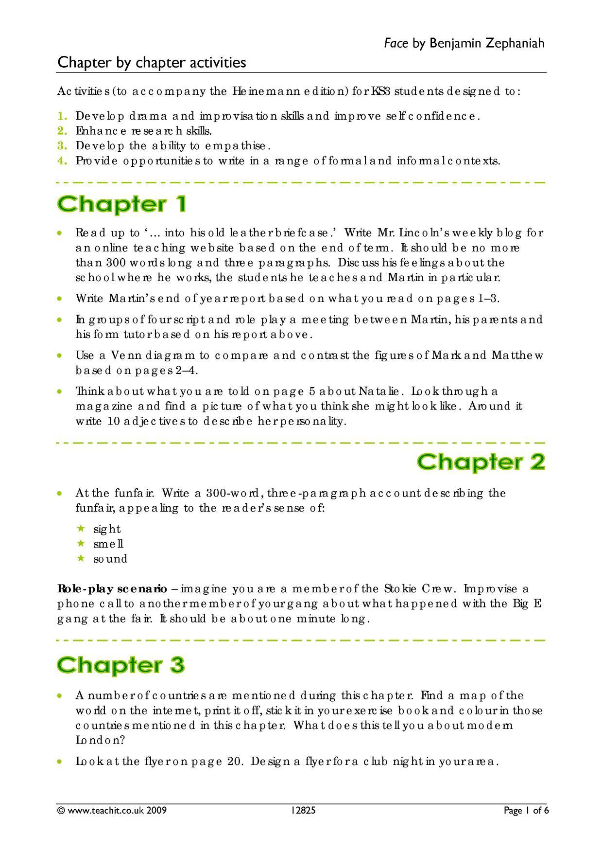 Skellig Chapter