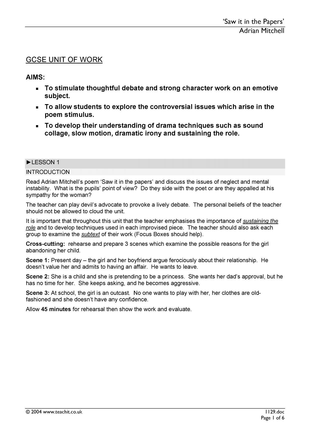 Language Paper 1