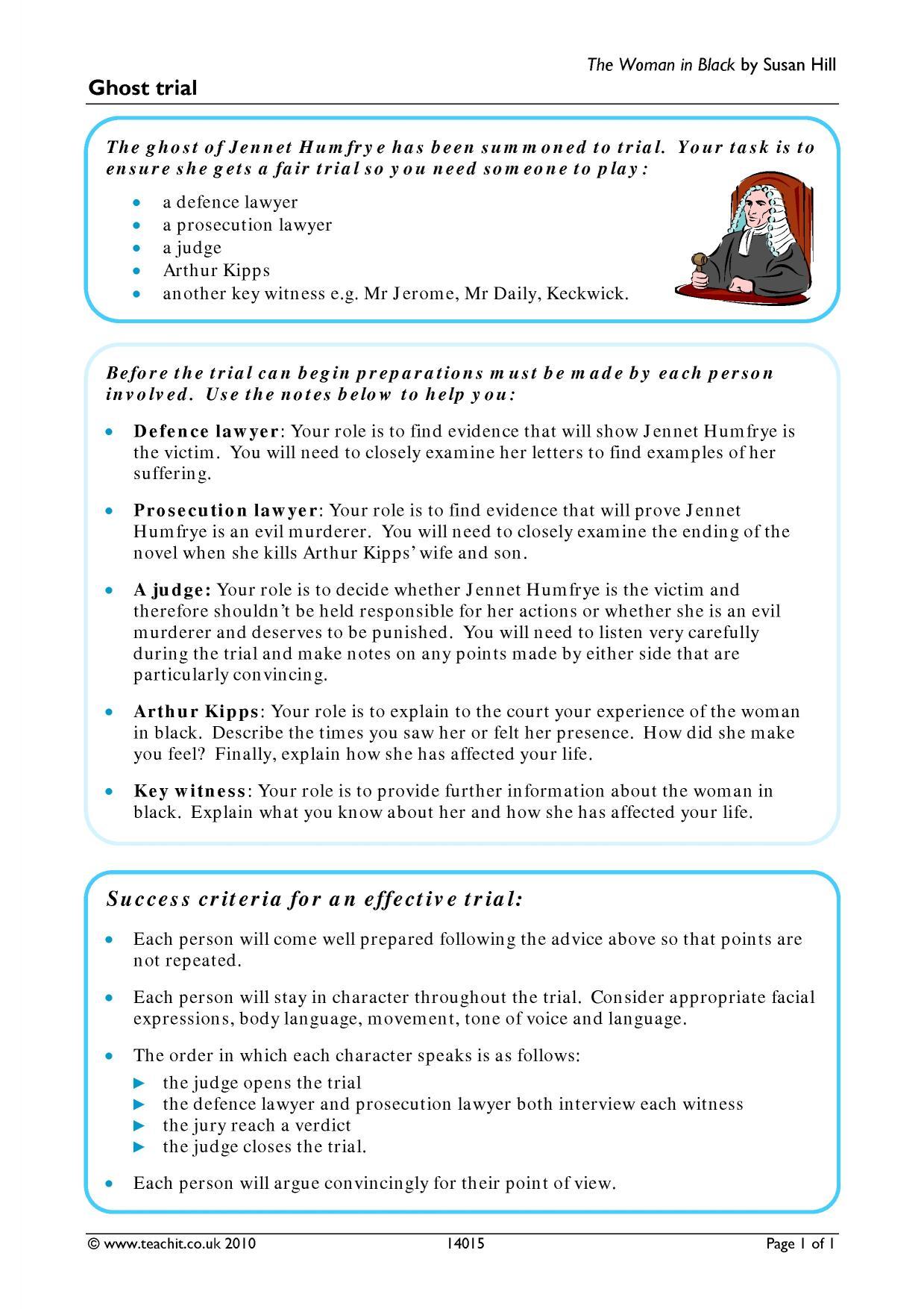 Focusing Listening Worksheet