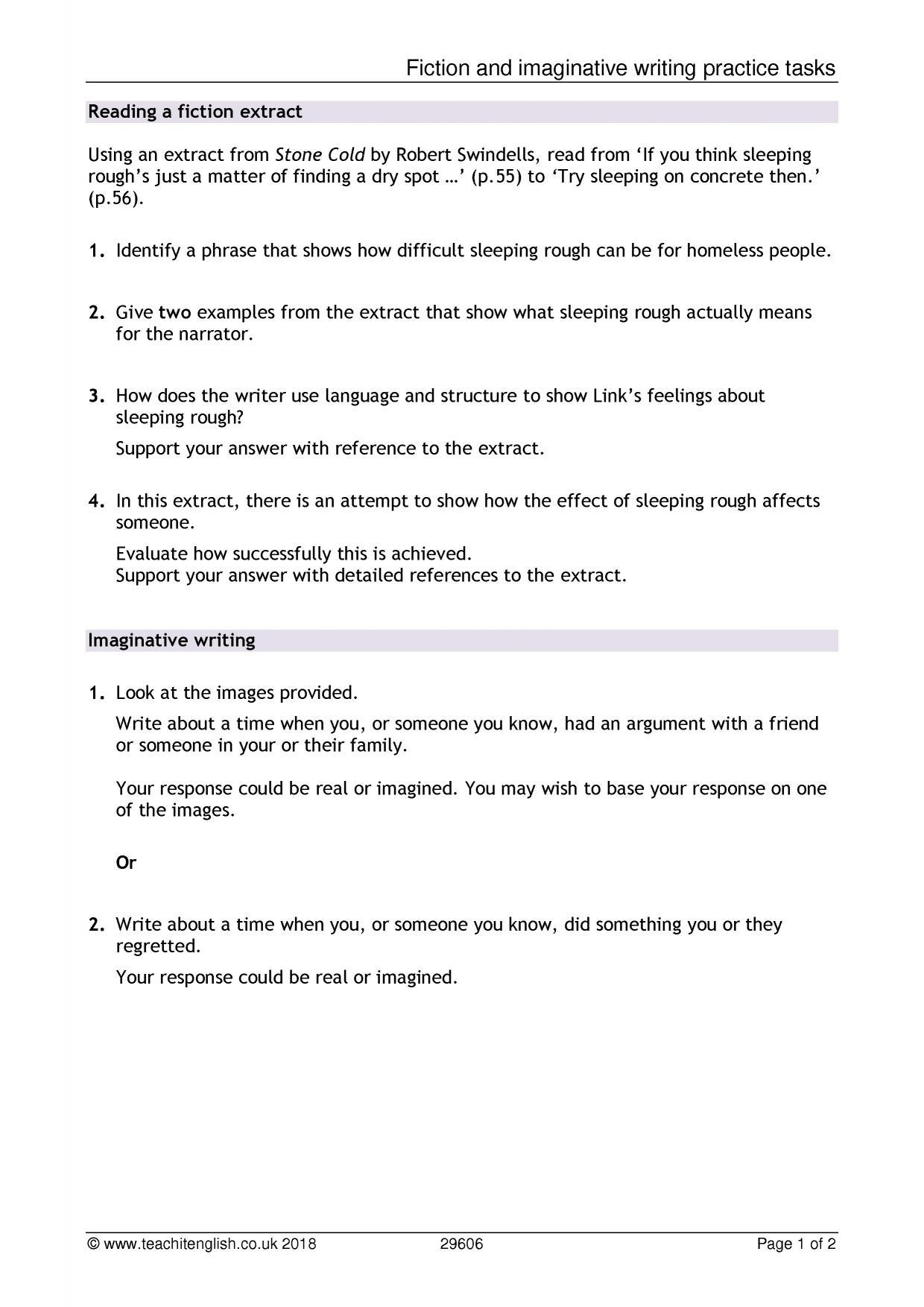 Ks3 Writing