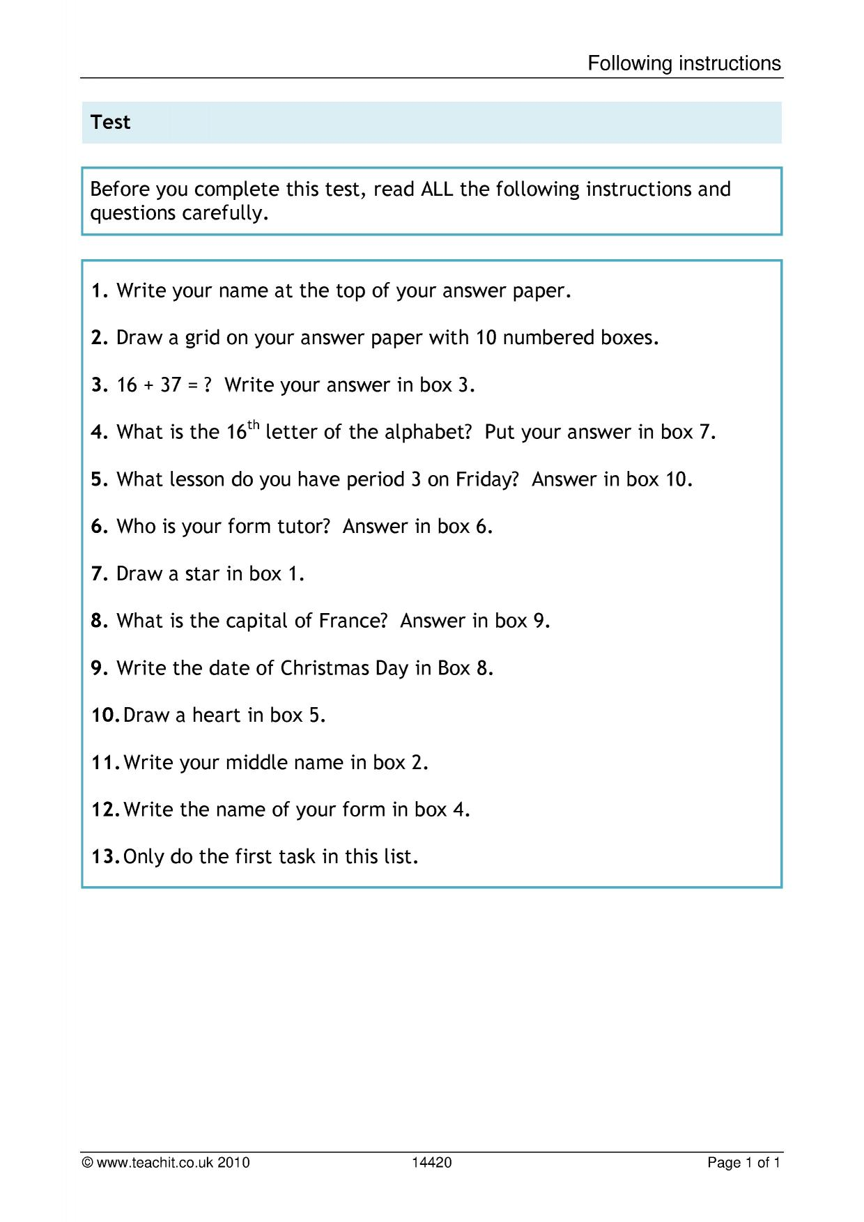 English Comprehension Passages With Questions And Answers