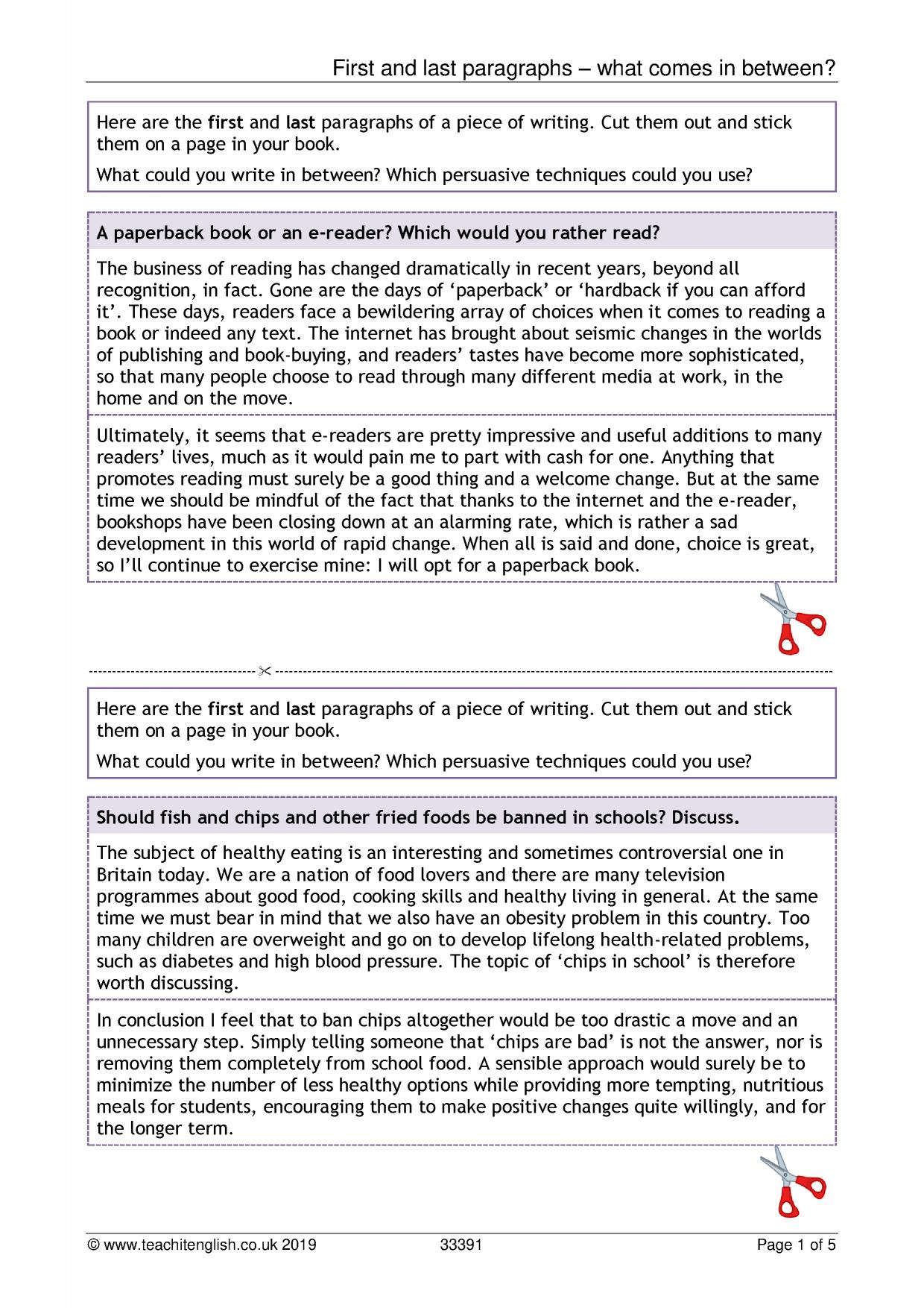 Persuasive Letter Example For Kids