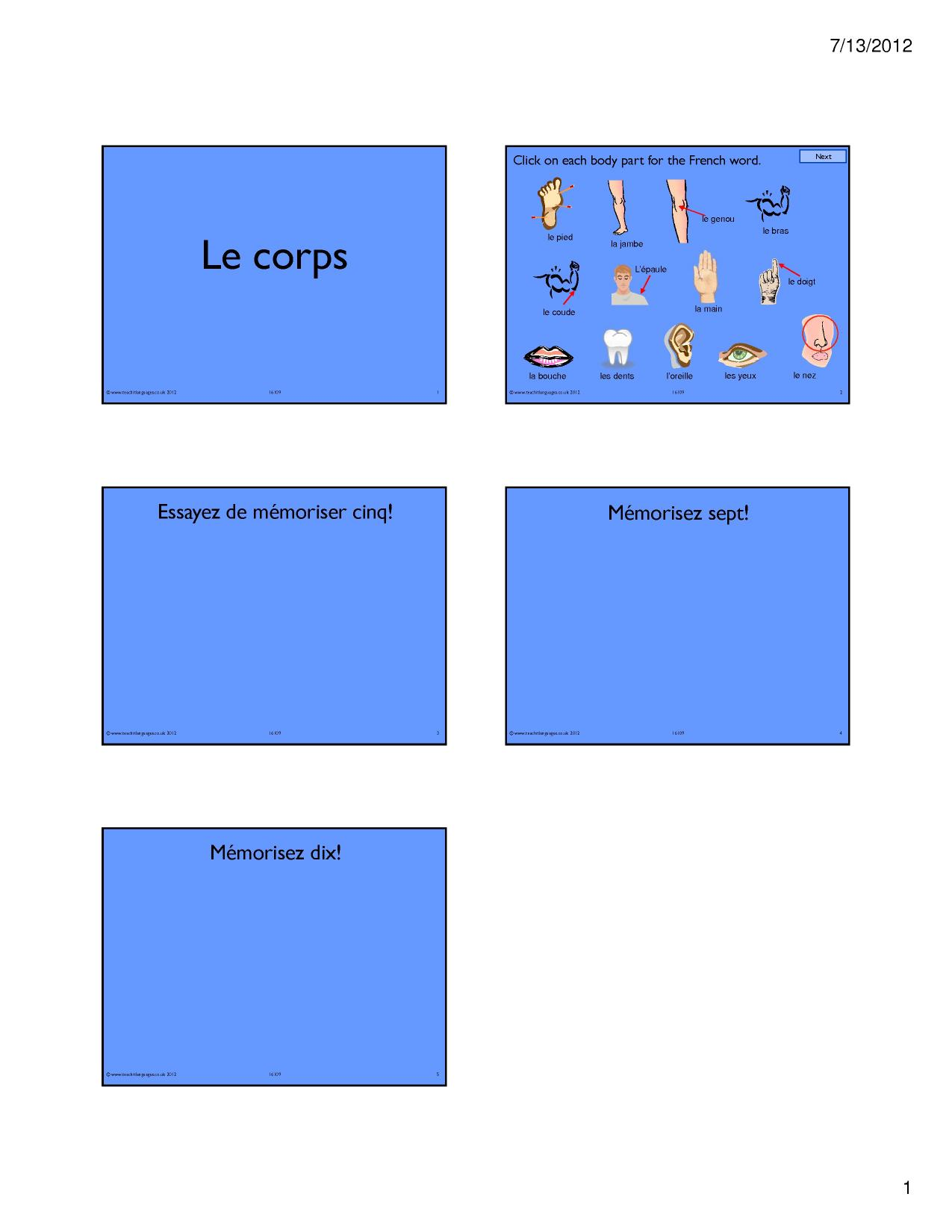 Ks3 French