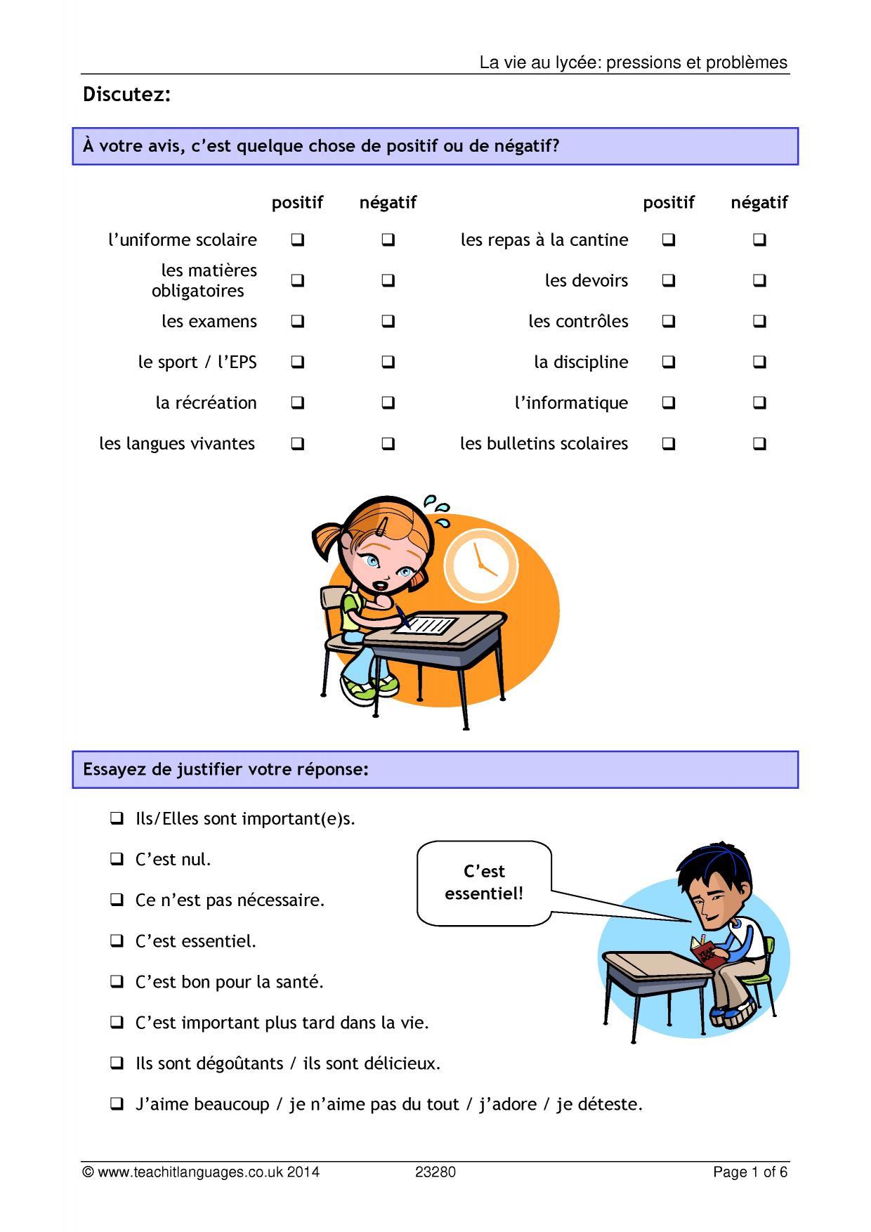 Ks4 French