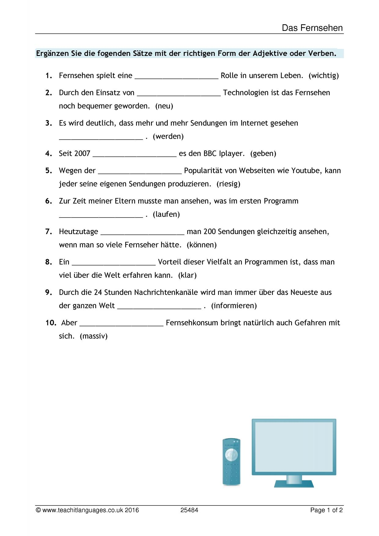 German Language Teaching Resources