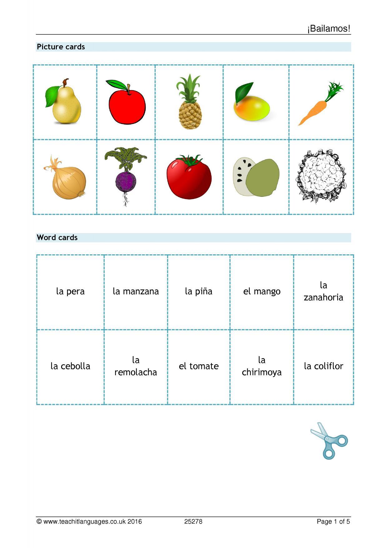 Latest Spanish Teaching Resources