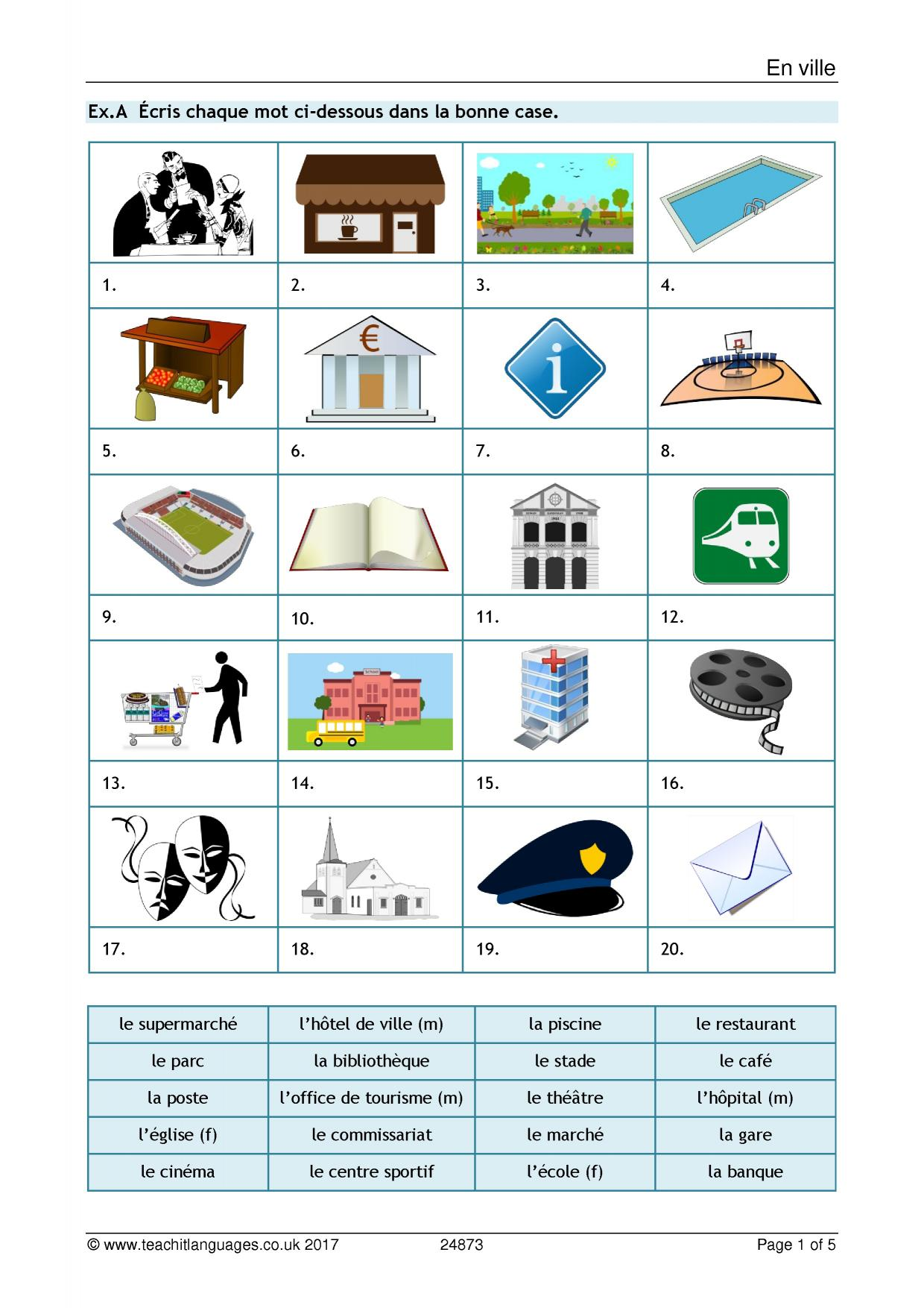 French Homework Help Ks3 Reading Class Clips