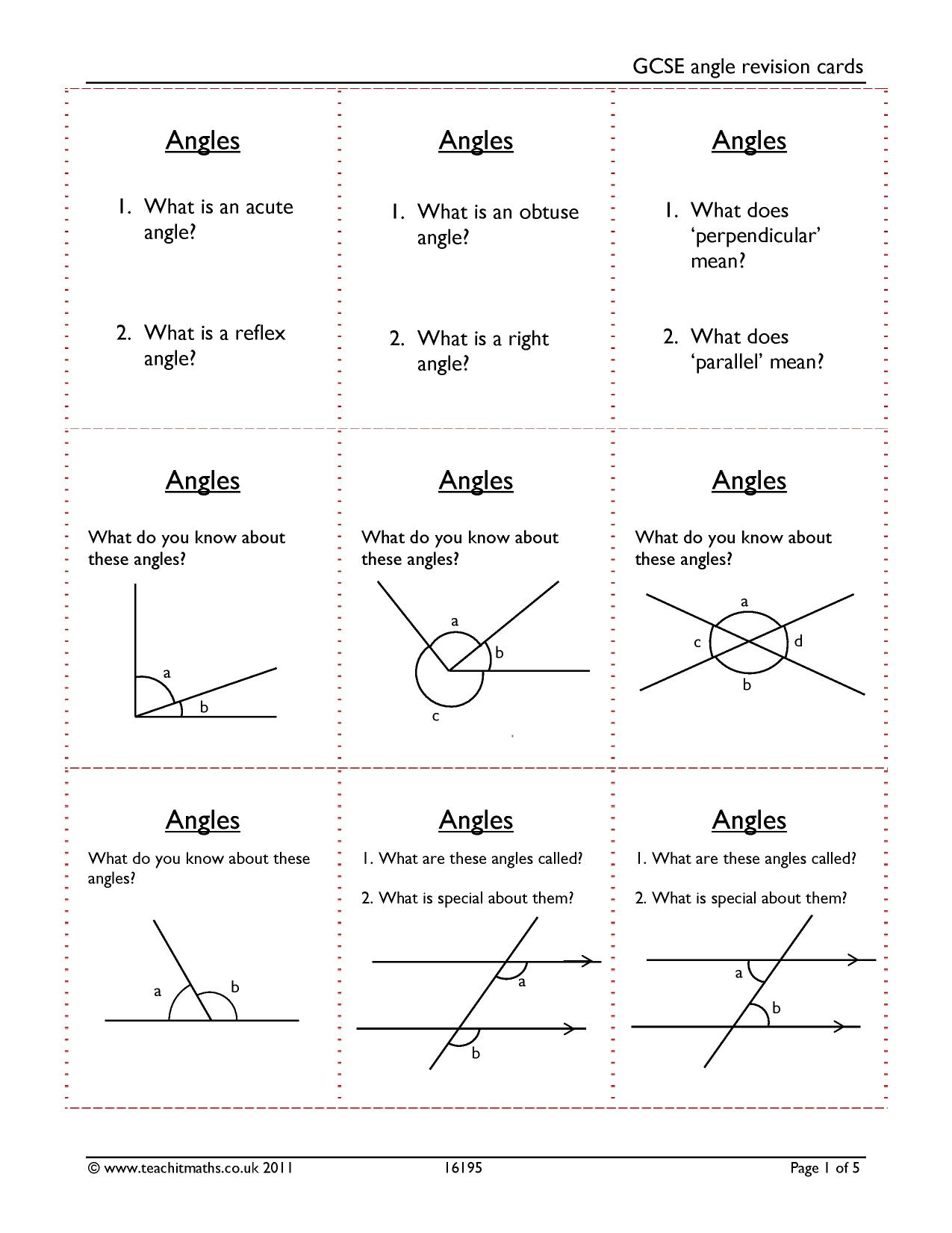 Angles In Polygons Revision Poster Maths Pinte T