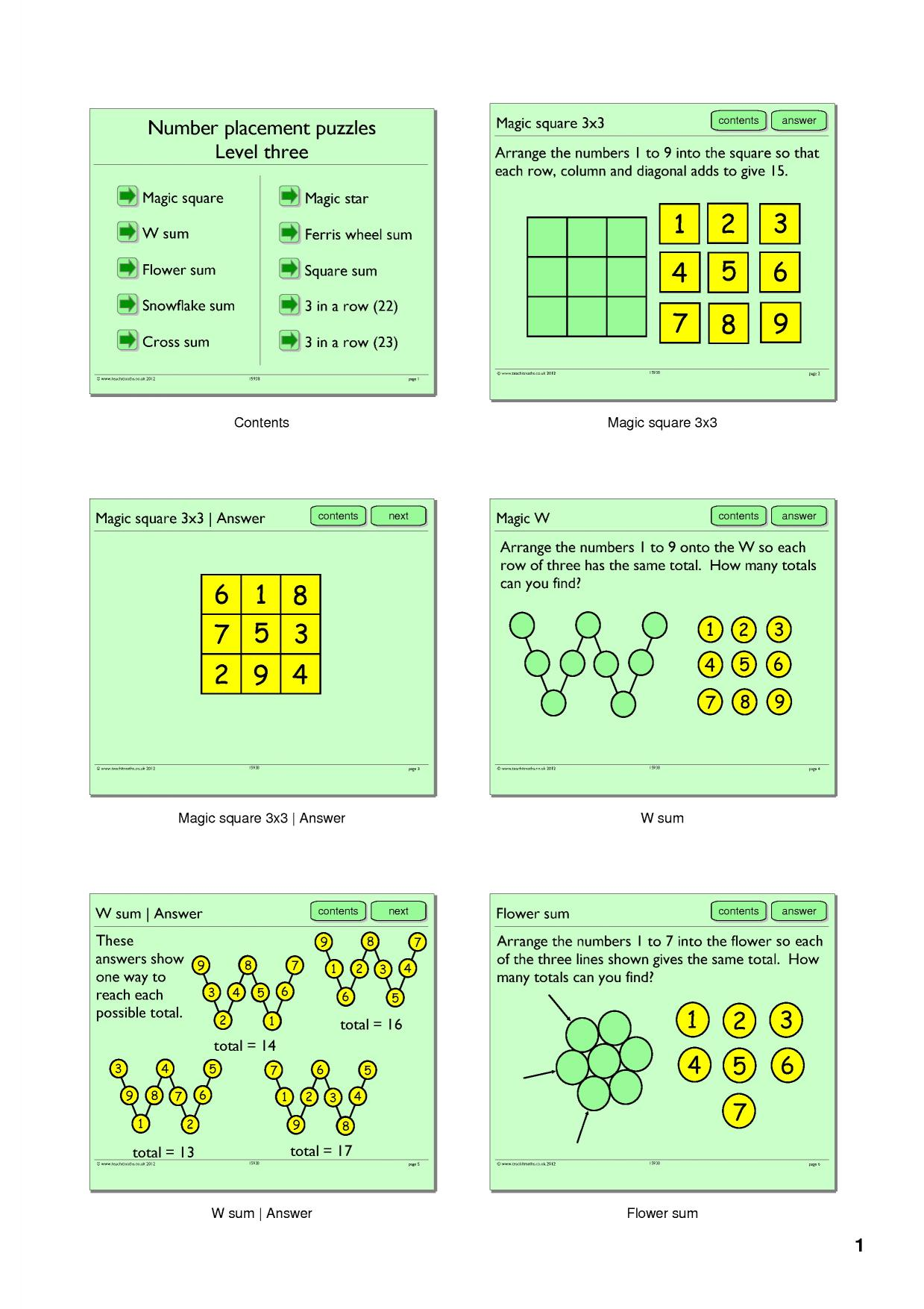 Worksheet Magic Squares Worksheet Grass Fedjp Worksheet