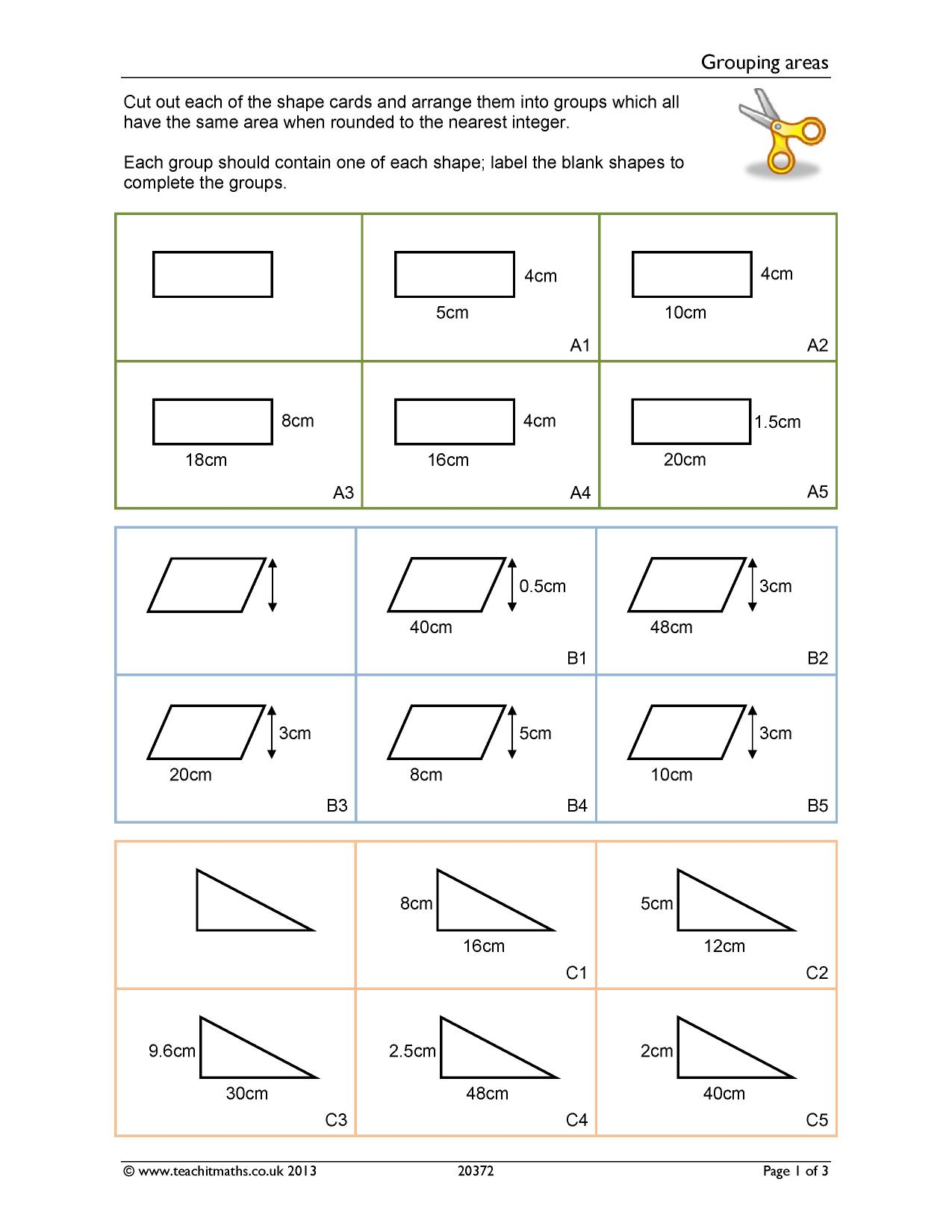 Ks3 Geometry And Measure
