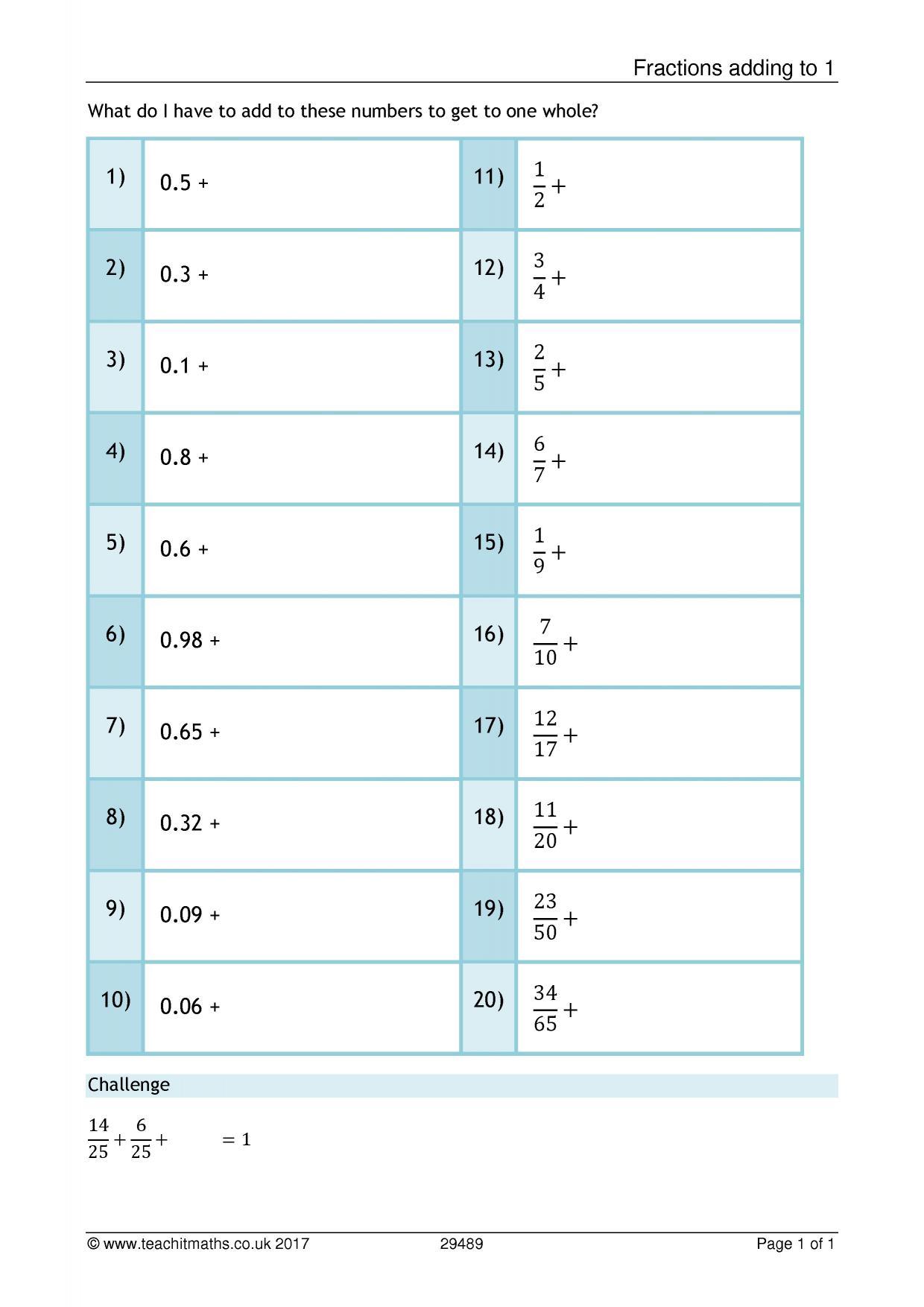 Ks3 Number