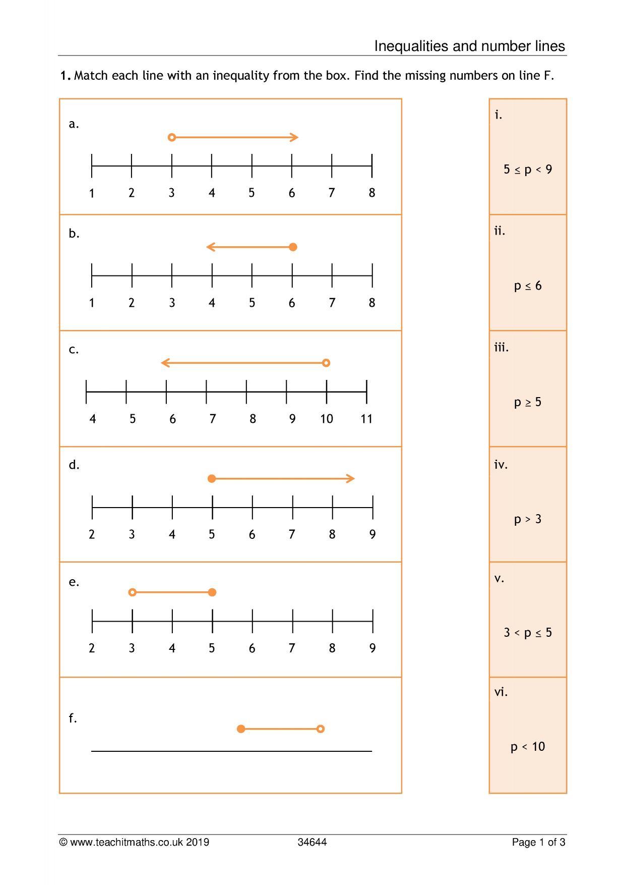 Ks3 Numbers Teaching Resources