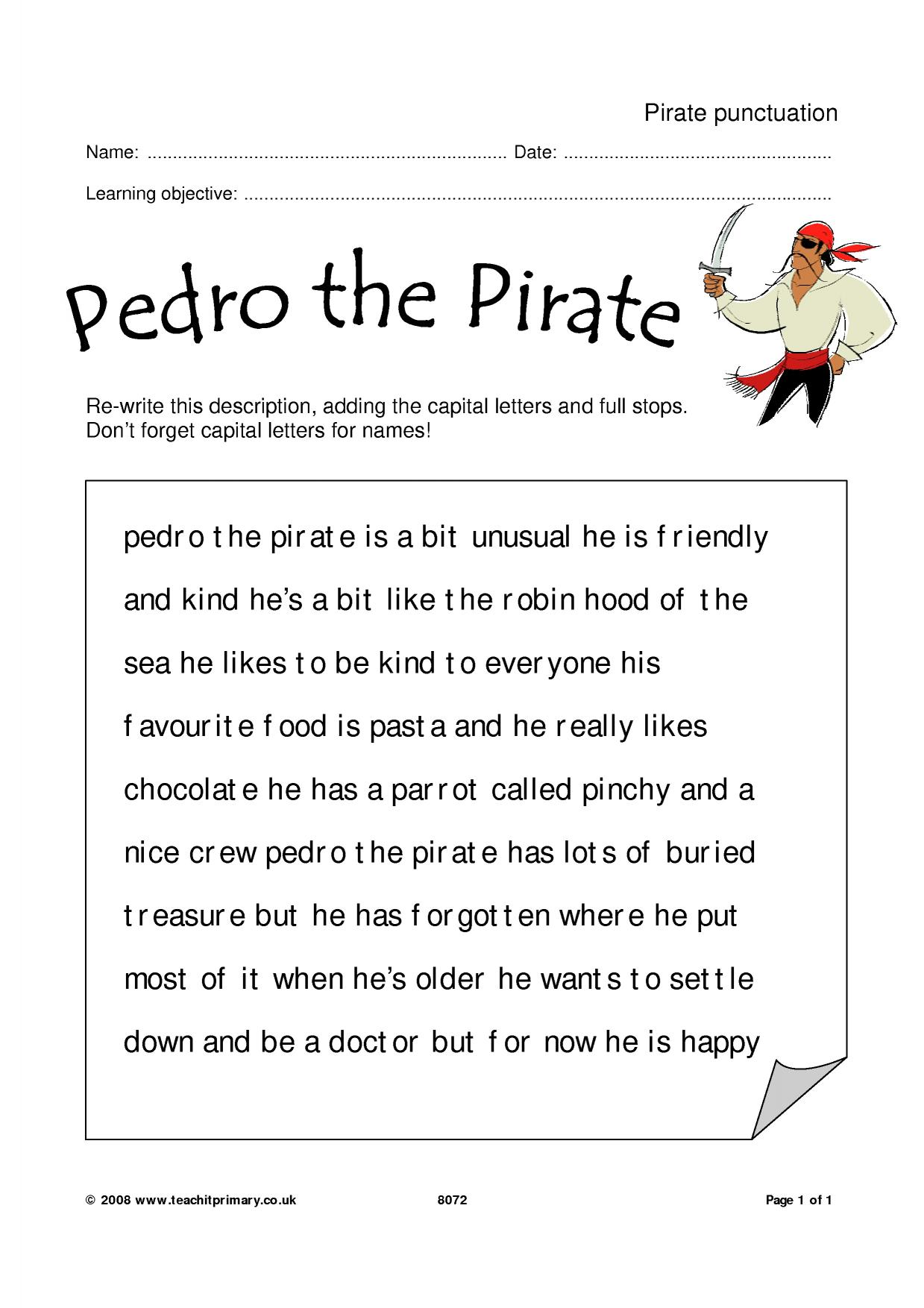 Pirate Punctuation