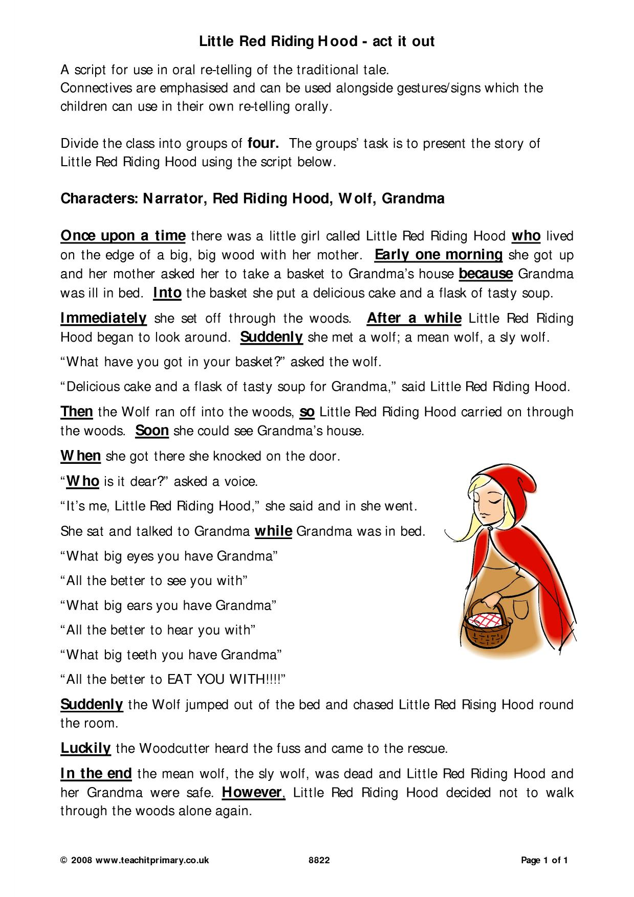 Fairy Tail Worksheet Kindergarten Printable Worksheets And