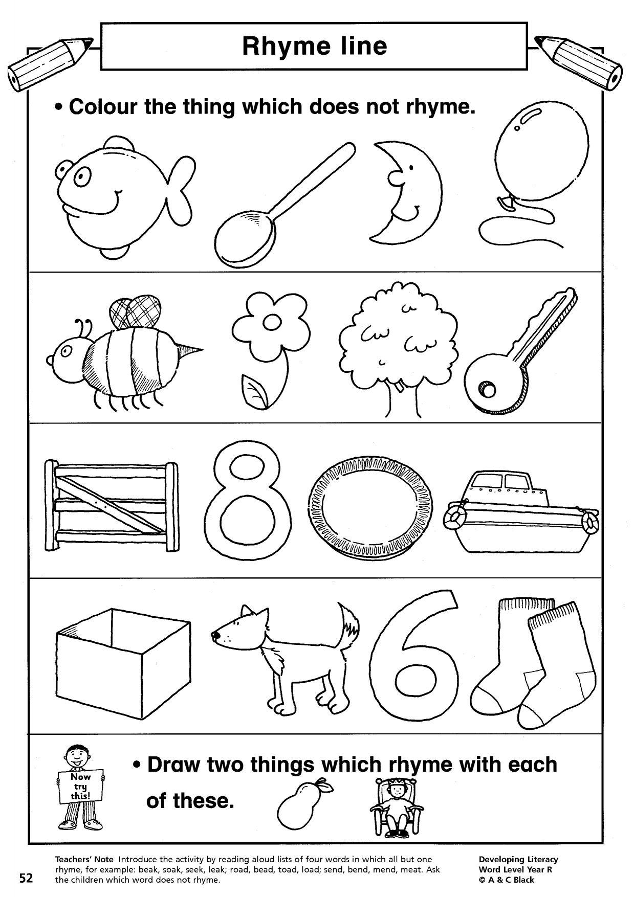 Rhythm In Art Worksheet For Art