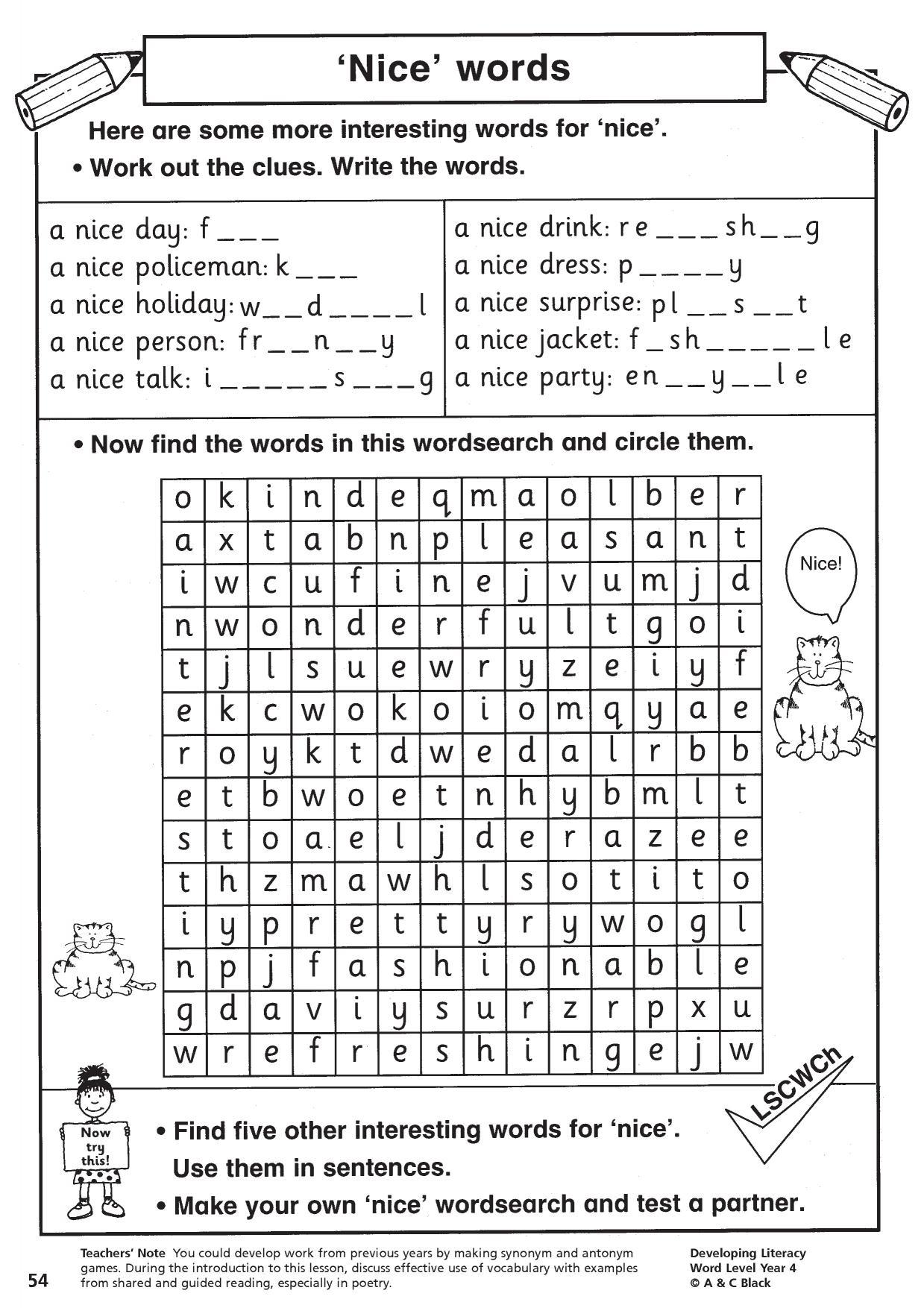 Finding Antonyms Of Words