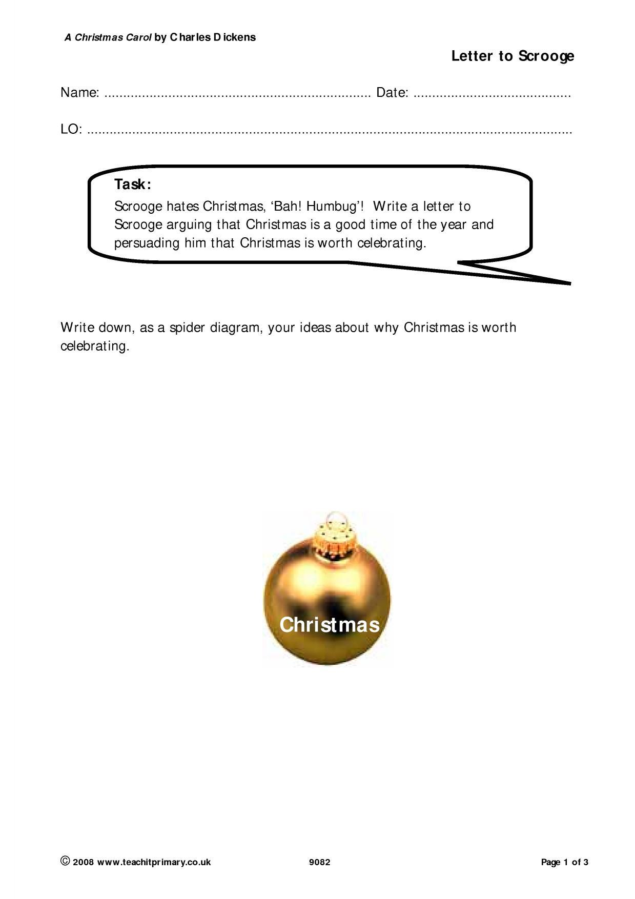 Christmas Creative Writing Ks2