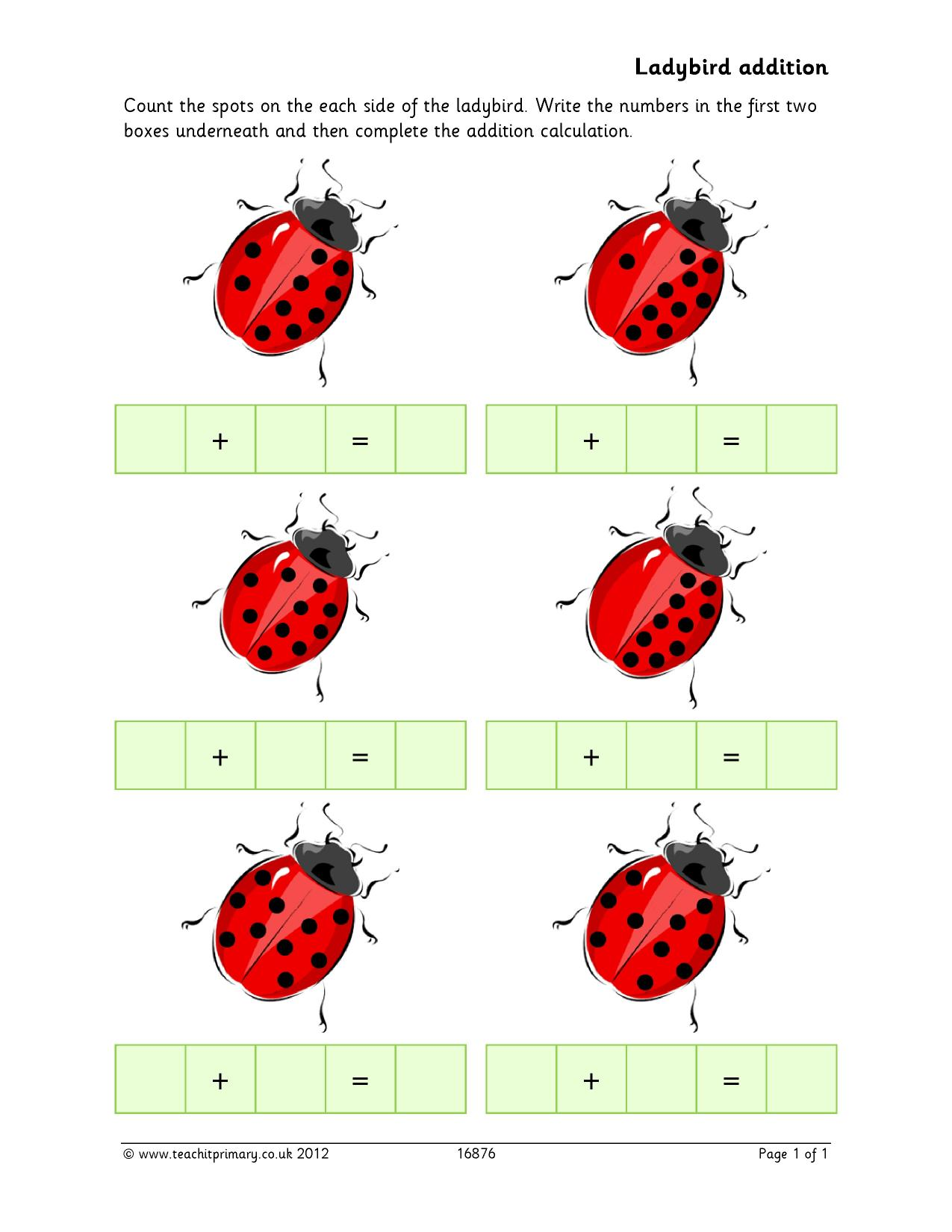 Ladybird Addition