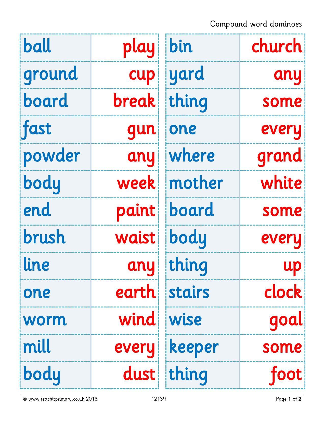 Word Classes