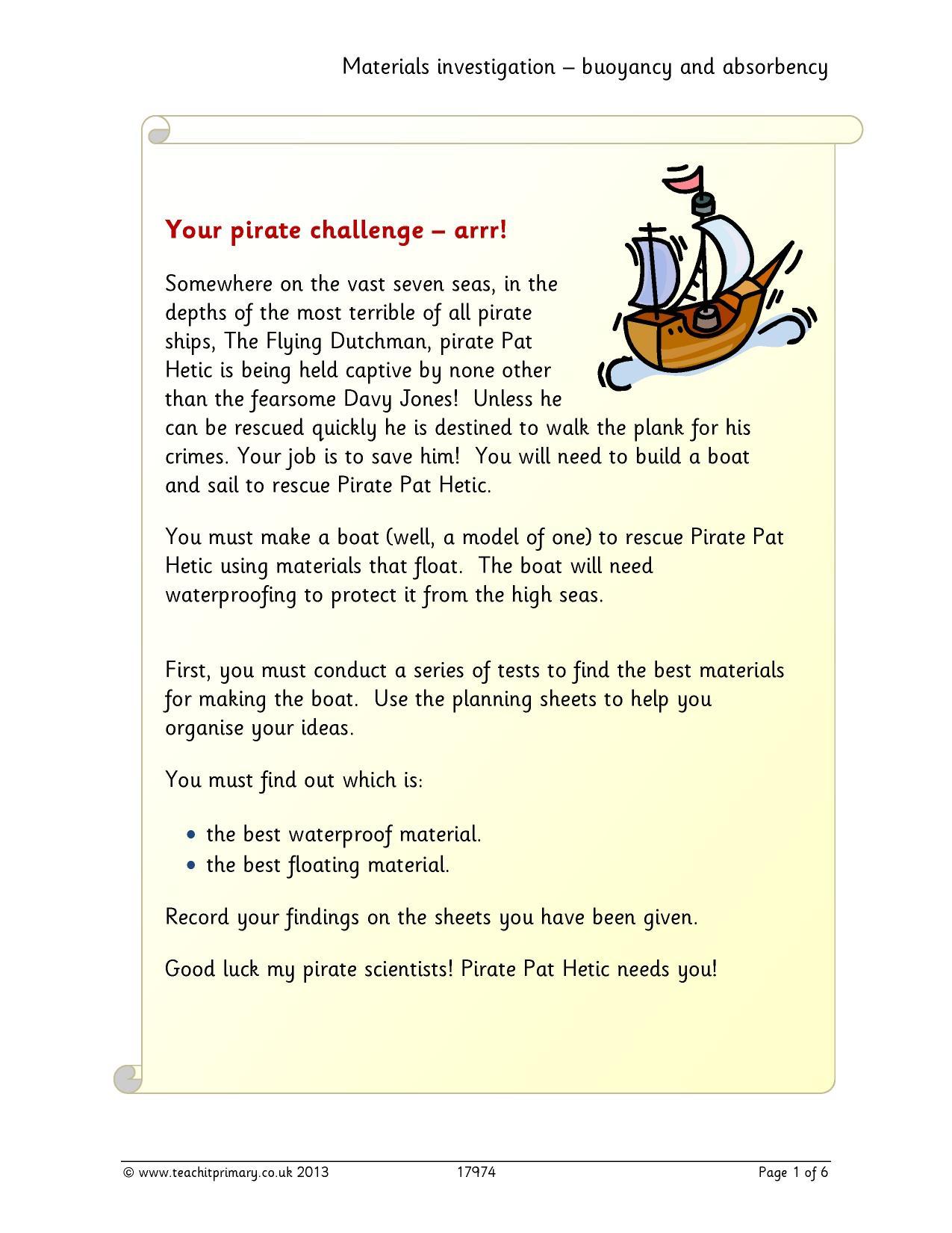 Pirate Poem