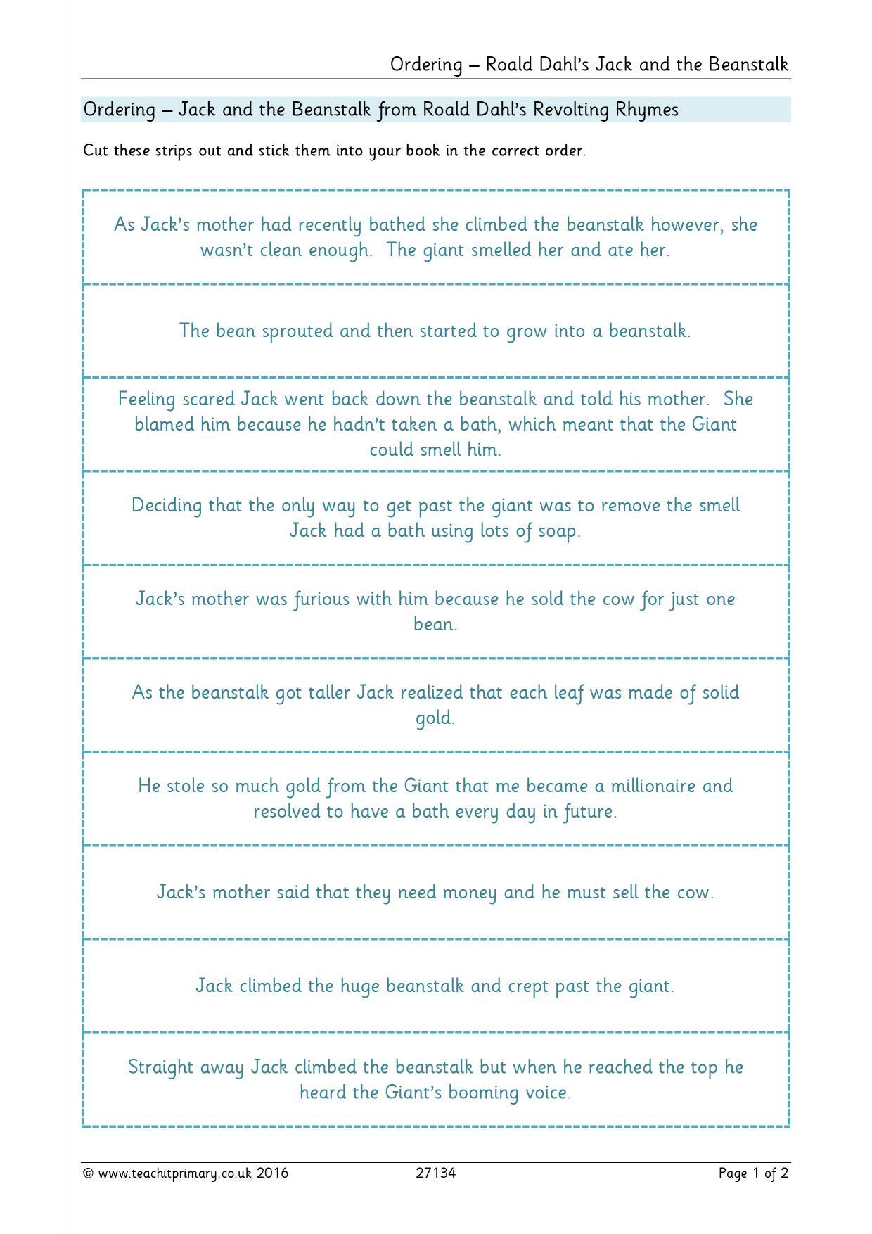 Poem Based Resources