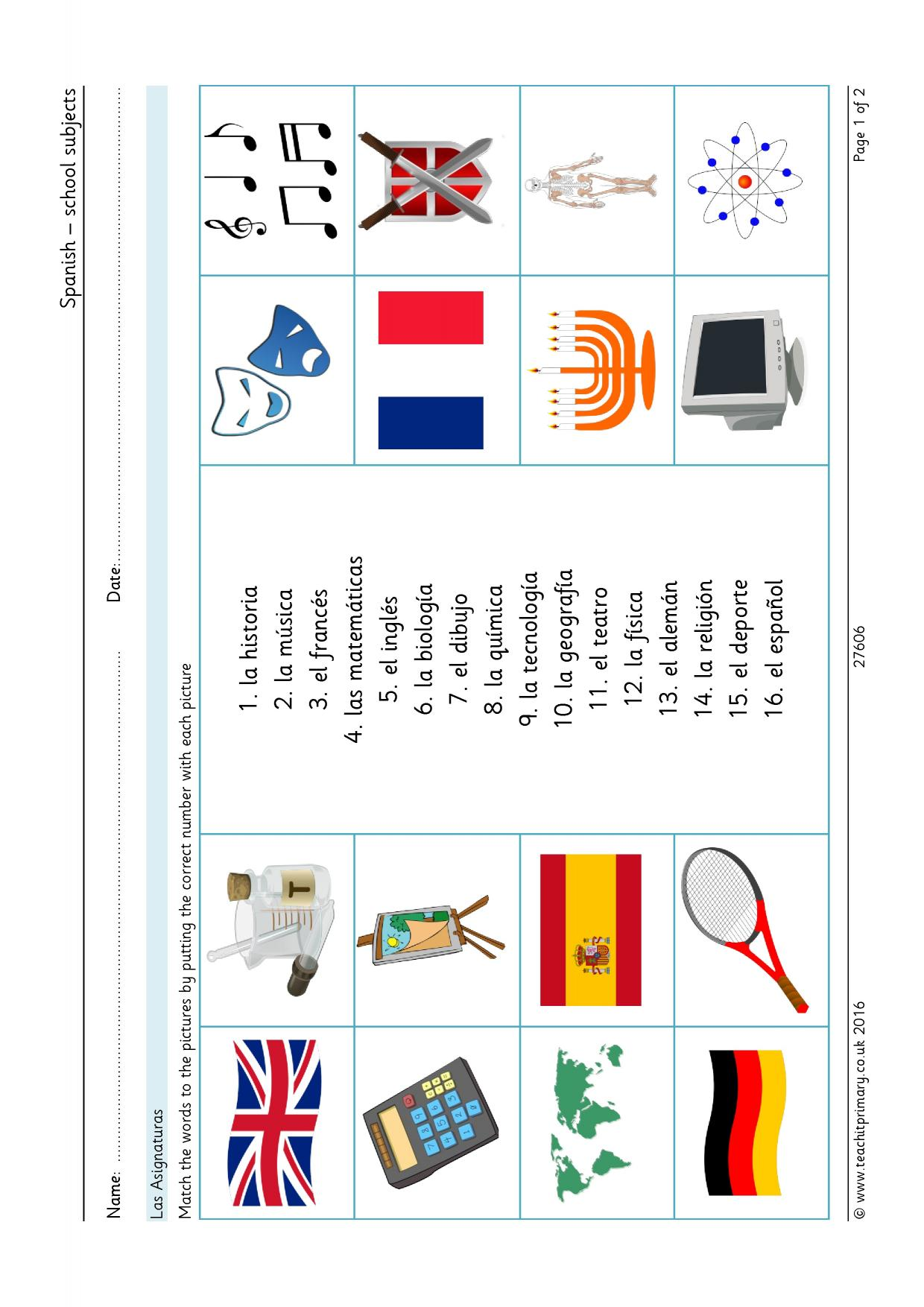 Languages Teaching Resources For Foundation Ks1 And Ks2
