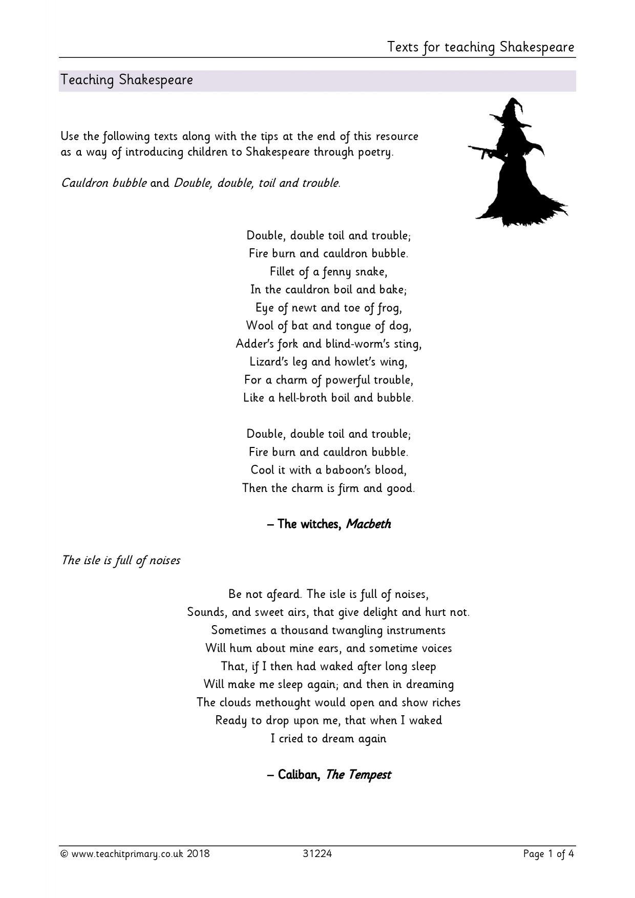 Eyfs Ks1 Ks2 Poetry