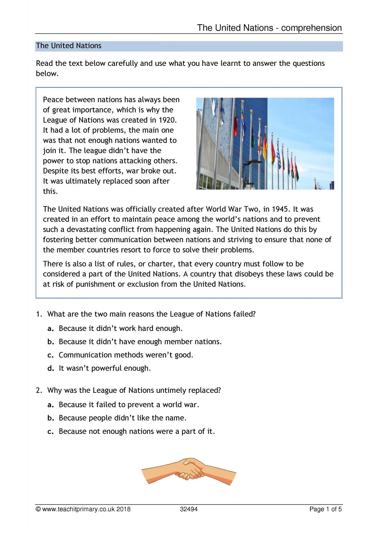 The Eye Ks2 Worksheet
