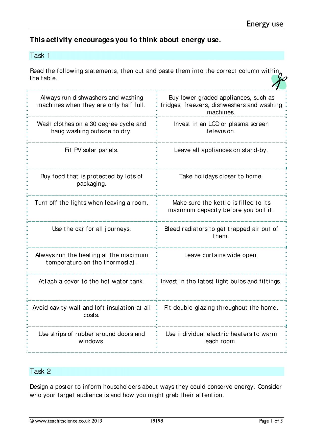 Chemistry Word Equations Worksheet Ks3