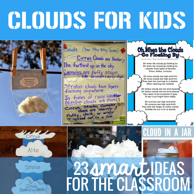 Different Clouds First Grade
