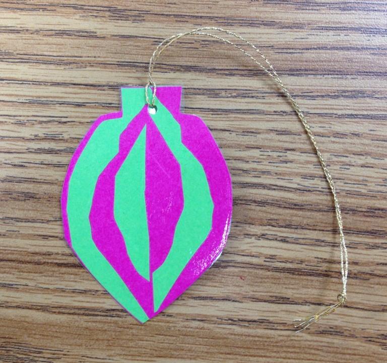 Japanese Notan Ornament