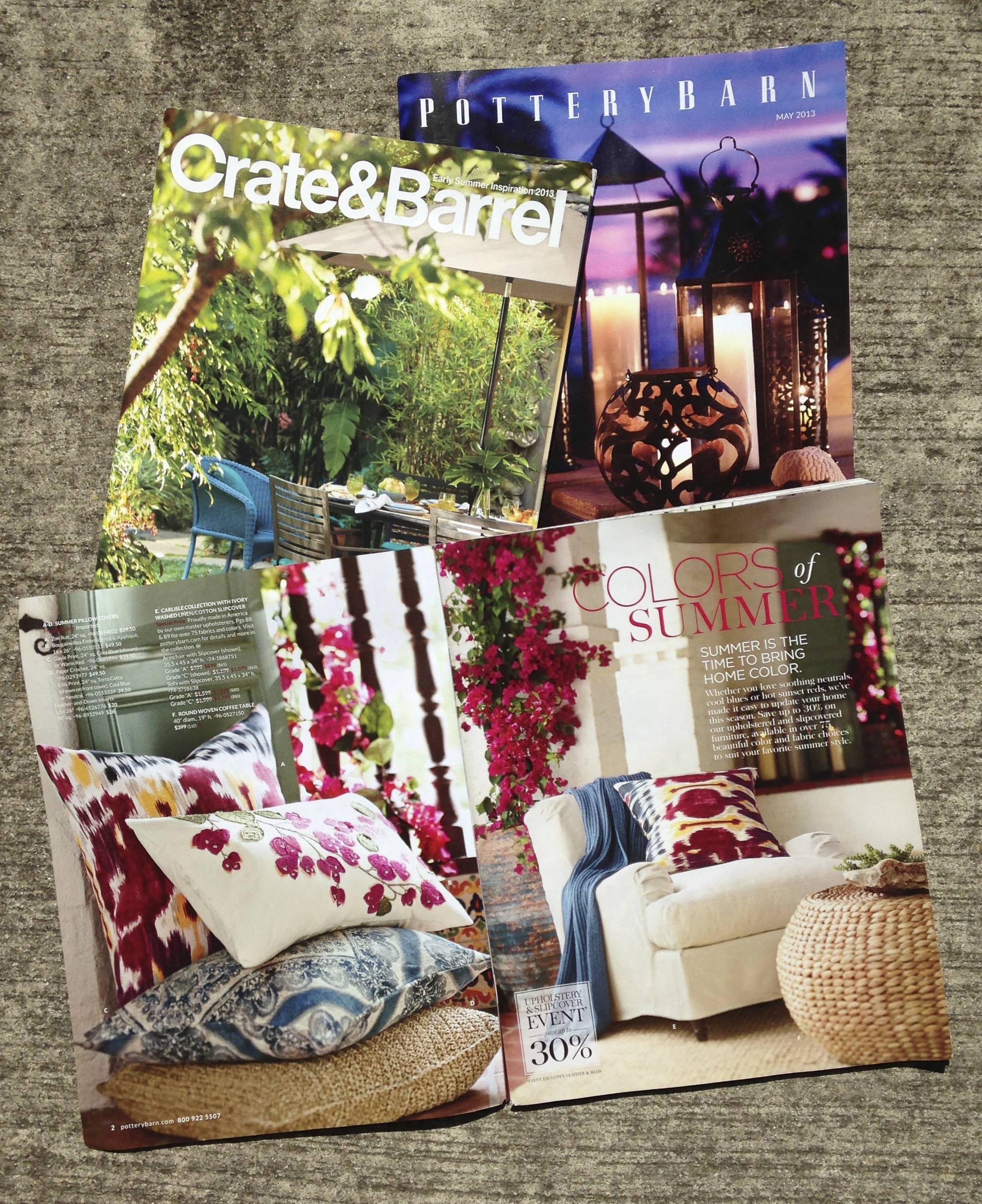 Colorful Catalogs for Collage
