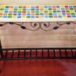 Ceramic Tile Table auction project
