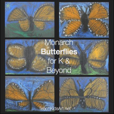 Monarch Butterflies for K & Beyond
