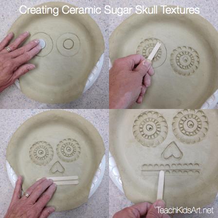 Creating Ceramic Sugar Skull Textures