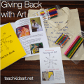 The 'Young at Art' art bag - Buy One Give One