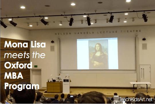 Mona Lisa meets the Oxford MBA Program