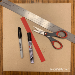 Materials needed to make a Creative Extension Spinner