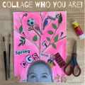 Collage Who You Are Self-Portrait