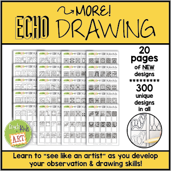 """photo of """"More! Echo Drawing"""" resource cover"""