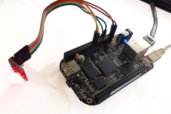 beaglebone black i2c