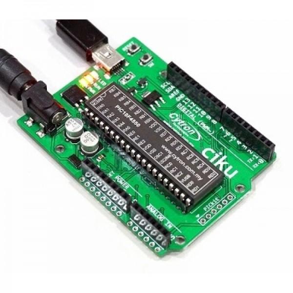arduino like IDE for PICs - ciku