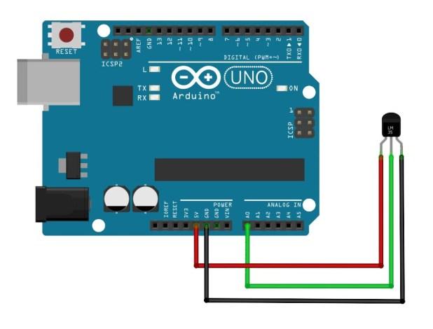 Arduino Sensor LM35