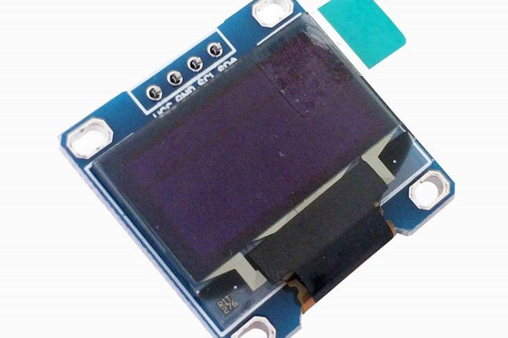 128x64 Tiny OLED display